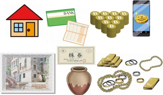 贈与税の対象財産