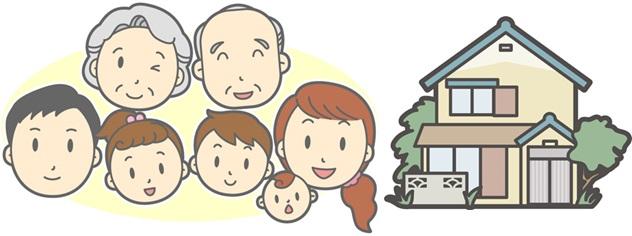 土地や建物の無償利用(親と同居)